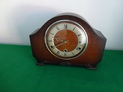 Vintage English Andrew Westminster Chimes Mantle Clock