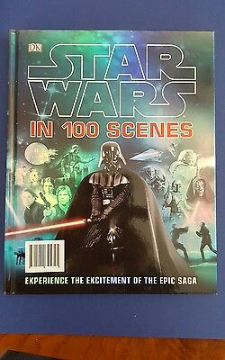 Star Wars hardback book. 100 Scenes by DK. Immaculate condition.