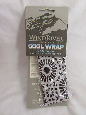 FREE POST Wind River Cool Wrap Bandana Water-Activated Cooling Action BNIB