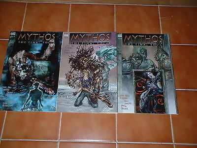 Mythos; The Final Tour Issues 1, 2 & 3  Nm/nm- . Dc / Vertigo