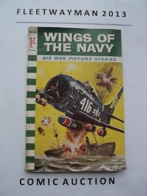#20 Pearsons - Air War Pictures Library Comic - Scarce - 1961 - Vgc - Commando