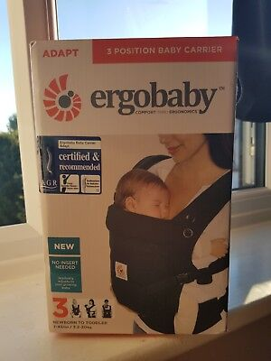 Ergobaby Adapt Baby Carrier - 3 position - RRP £100
