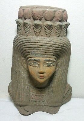 Rare Ancient Egyptian Antique Mask Queen Nefertari Wife Of Ramses