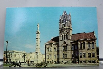 South Carolina SC Anderson Court House Square Postcard Old Vintage Card View PC