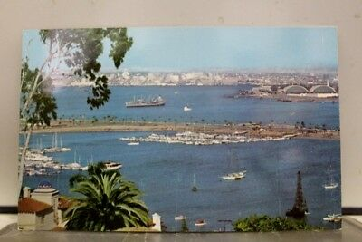 California CA Point Loma San Diego Bay Postcard Old Vintage Card View Standard