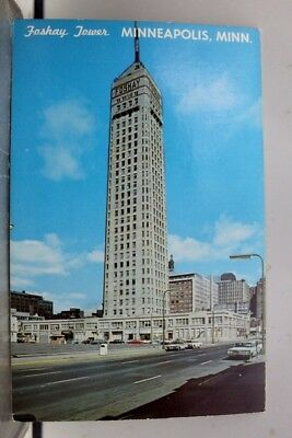 Minnesota MN Minneapolis Foshay Tower Postcard Old Vintage Card View Standard PC