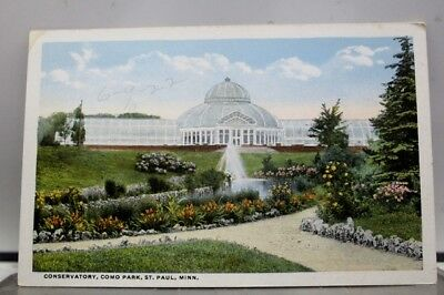 Minnesota MN St Paul Como Park Conservatory Postcard Old Vintage Card View Post