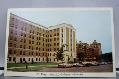 Minnesota MN Rochester St Mary's Hospital Postcard Old Vintage Card View Post PC