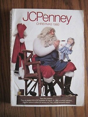 JC PENNEY 1980 Christmas Catalog Wishbook-Toys, Clothing & More