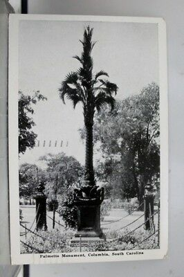 South Carolina SC Columbia Palmetto Monument Postcard Old Vintage Card View Post