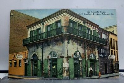 Louisiana LA New Orleans Absinthe House Postcard Old Vintage Card View Standard