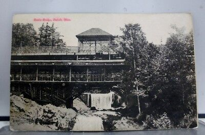 Minnesota MN Duluth Rustic Bridge Postcard Old Vintage Card View Standard Post