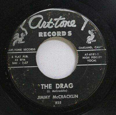 Hear! Northern Soul Funk 45 Jimmy Mccracklin - The Drag / Just Got To Know On Ar