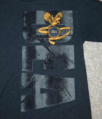 Drug Enforcement Administration DEA 35th Anniversary 2008 Morale Shirt - SMALL