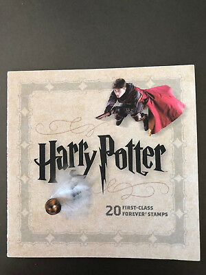 HARRY POTTER Booklet 20 First Class FOREVER Postage Stamps COLLECTIBLE- MINT