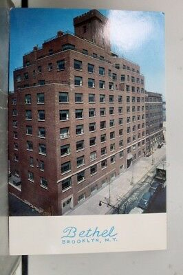 New York NY Bethel Home Brooklyn Postcard Old Vintage Card View Standard Post PC