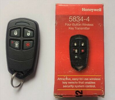 Honeywell 5834-4-Button Wireless Remote New in Box
