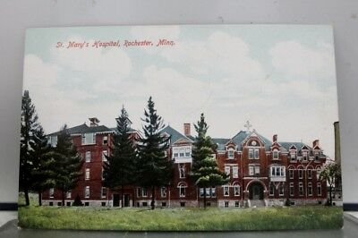 Minnesota MN St Mary Hospital Rochester Postcard Old Vintage Card View Standard