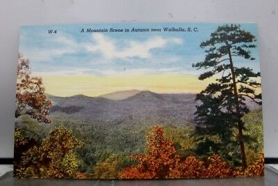 South Carolina SC Walhalla Mountain Postcard Old Vintage Card View Standard Post