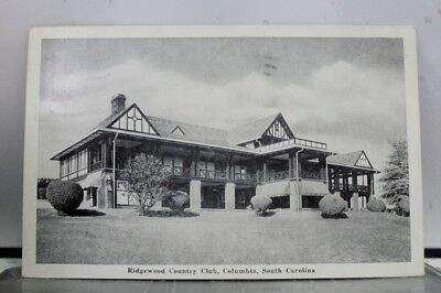 South Carolina SC Ridgewood Country Club Columbia Postcard Old Vintage Card View