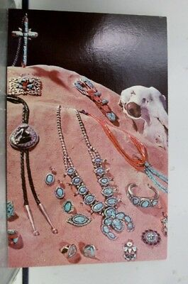 New Mexico NM Genuine Indian Made Jewelry Postcard Old Vintage Card View Post PC