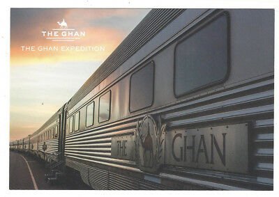 POSTCARD The Ghan  2000's  carriges