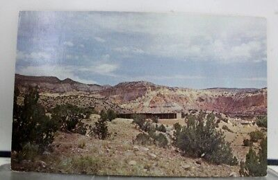 New Mexico NM Ghost Ranch Abiquiu Postcard Old Vintage Card View Standard Post