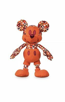 Mickey Mouse Memories Plush July 1970 70S Red In Hand Disney Store