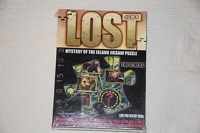 RARE 🔥 LOST NEW IN BOX #2 of 4 Mystery of The Island Puzzle The Others