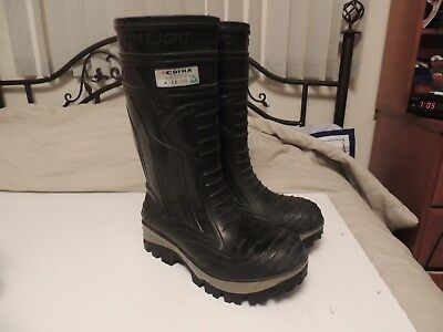 Cofra Thermic Safety Black Composite Boots Used Good Condition Size 10