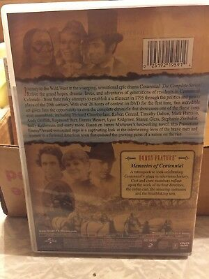 Centennial: The Complete Series 6 Dvd Set Like New Fast Free Shipping 16.99