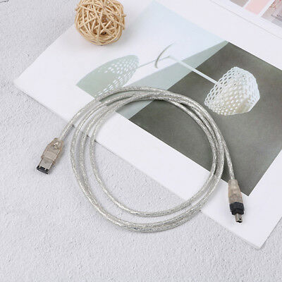 5ft USB To firewire ieee 1394 4 pin i Link adapter cable  Z