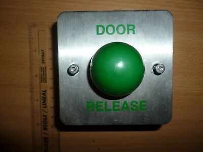 Green Dome Exit Button 80956-DR Stainless Steel door entry system intercom NEW