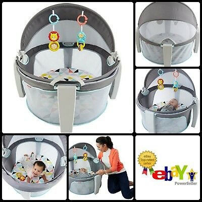 On The Go Baby Dome Playing Space Windmill Travel Beach Canopy Camp Play Bed New
