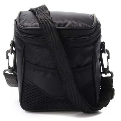 Black Outdoor Portable Digital Camera Case Shoulder Bag For Nikon Sony Camera UK