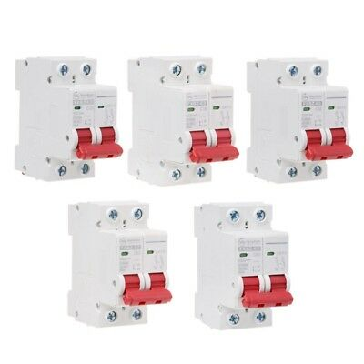 2P 25A Transparent case Mini Circuit breaker MCB DP
