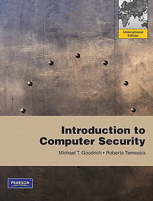 Introduction to Computer Security: International Version by Roberto Tamassia, Mi
