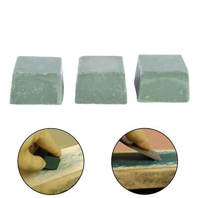 1X Leather Craft DIY Grind Polished Beeswax Paste For Maintain Leather Knife _S
