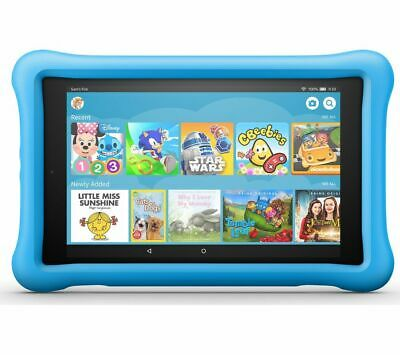 """AMAZON Fire HD 8"""" Kids Edition Tablet (Oct 2018) - 32 GB, Blue - Currys"""
