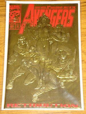 Avengers #366 Vol1 Marvel Comics Ds Foil Cover September 1993