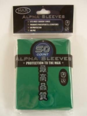 Max Protection Card Protection Neo Sleeves - Alpha Green (50) MINT