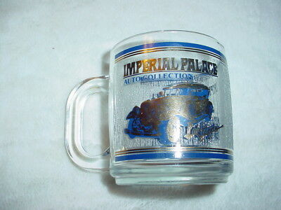 Rare Imperial Palace Las Vegas Auto Collection Glass