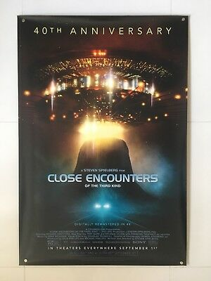 Close Encounters of the Third Kind   original DS movie poster 27x40   Spielberg