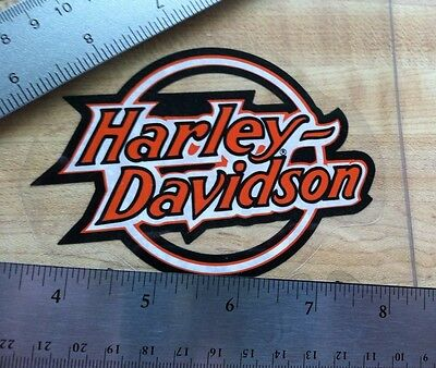 Harley-Davidson Older NOS Inside Window Decal.Vintage Harley Sticker.3.5 X 4.5