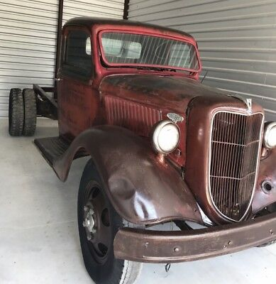 1936 Ford 1 Ton Pickup  1936 Ford 1 Ton Dually