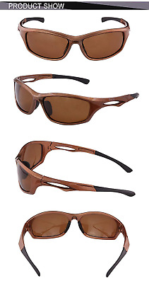 Polarized Sunglasses for Running Cycling TR90 Unbreakable Frame 6199 NEW HOT US
