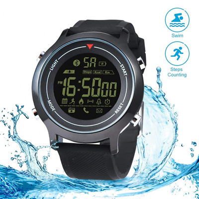 Smart Sport Watch Waterproof Compatible with Phone, Monitoring Sports Data NEW