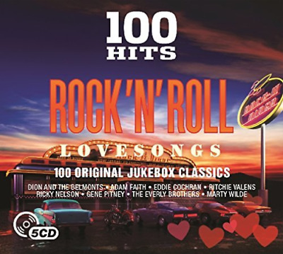 Various Artists-100 Hits - Rock N` Roll Love Songs (UK IMPORT) CD NEW