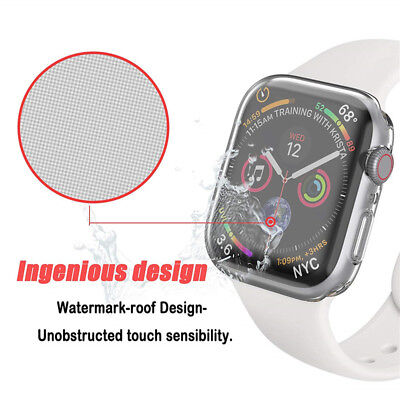 iWatch Screen Protector Case Cover For 42/40/44mm Apple Watch Series 4/3/2