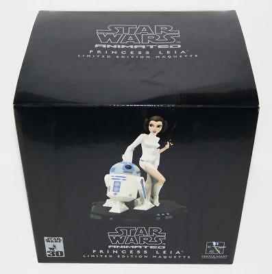 Star Wars ANH Animated PRINCESS LEIA R2-D2 Gentle Giant Maquette Statue 865/8500